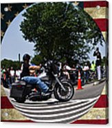 Rolling Thunder Salute Acrylic Print