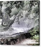 Rolling Waters Acrylic Print