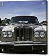 Rolls Royce Corniche 1980 Acrylic Print