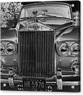 Rolls Royce Grill Acrylic Print