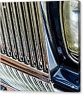 Rolls Royce Headlight And Grille Acrylic Print