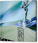 Rolls-royce Hood Ornament -782c Acrylic Print