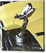 Rolls Royce Hood Ornament Acrylic Print