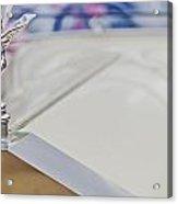 Rolls Royce Silver Ghost The Spirit Of Ecstasy Acrylic Print