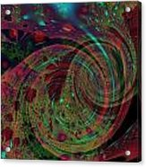 Roly Poly Acrylic Print by Mike Turner