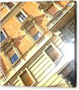 Roma Windows Acrylic Print