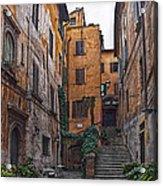 Roman Backyard Acrylic Print