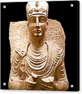 Roman Bust # 1 Acrylic Print
