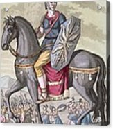 Roman Cavalryman Of The State Army Acrylic Print