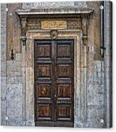 Roman Doors Acrylic Print