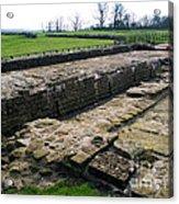 Roman Fort Ruins, England Acrylic Print