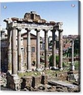 Roman Forum Acrylic Print