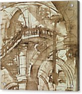 Roman Prison Acrylic Print