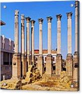 Roman Temple In Cordoba Acrylic Print