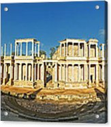 roman theatre in Merida Acrylic Print