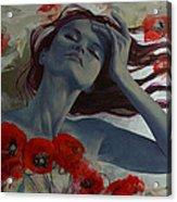 Romance Echo Acrylic Print by Dorina  Costras