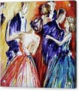 Dance In Romance Acrylic Print