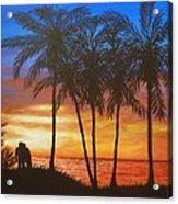 Romance In Paradise Acrylic Print