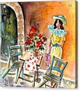 Romance In Siracusa Acrylic Print