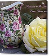 Romance Is The Dance Of Life Acrylic Print