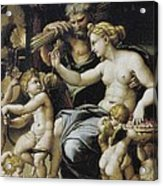 Romano, Giulio, Workshop Of. Venus Acrylic Print