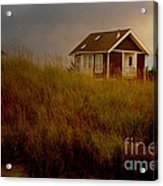 Romantic Beach Getaway Acrylic Print by Beverly Guilliams