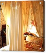 Romantic Bedroom Acrylic Print