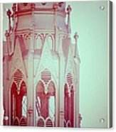 Romantic Cathedral Architectural Details Photograph Acrylic Print