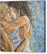 Romantic Cover Painting Acrylic Print