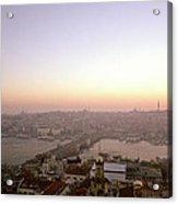 Romantic Istanbul Acrylic Print