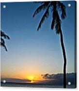 Romantic Maui Sunset Acrylic Print