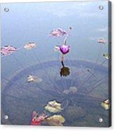 Romantic Pond Acrylic Print