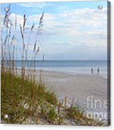 Romantic Secluded Beach Acrylic Print