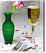 Romantic Setting Acrylic Print by Donald Davis