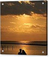 Romantic Sunrise Acrylic Print