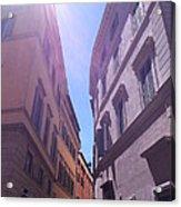 Rome At Mid Day Acrylic Print