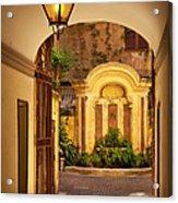 Rome Entry Acrylic Print