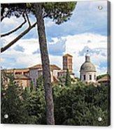 Rome Italy Cityscape Acrylic Print