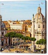 Rome, Italy. Rome, Italy. Piazza Della Acrylic Print