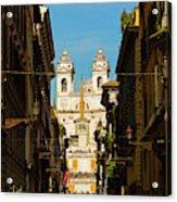 Rome, Italy. View Along Via Dei Acrylic Print