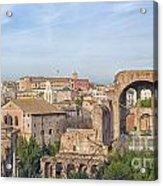 Rome Roman Forum 01 Acrylic Print