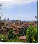 Rome Rooftop Acrylic Print