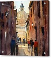 Rome Acrylic Print by Ryan Radke