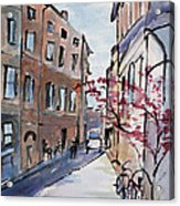 Rome Street Scene IIi Acrylic Print