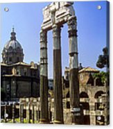 Romr Forum Columns Acrylic Print