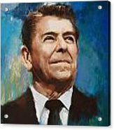 Ronald Reagan Portrait 6 Acrylic Print