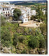Ronda Houses On A Rock Acrylic Print