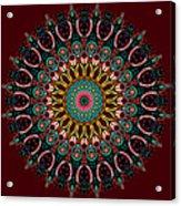 Ronnie Mandala Acrylic Print
