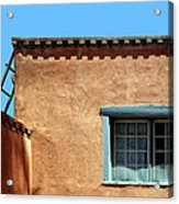 Roof Corner With Ladder And Window Acrylic Print