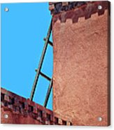 Roof Corner With Ladder Acrylic Print